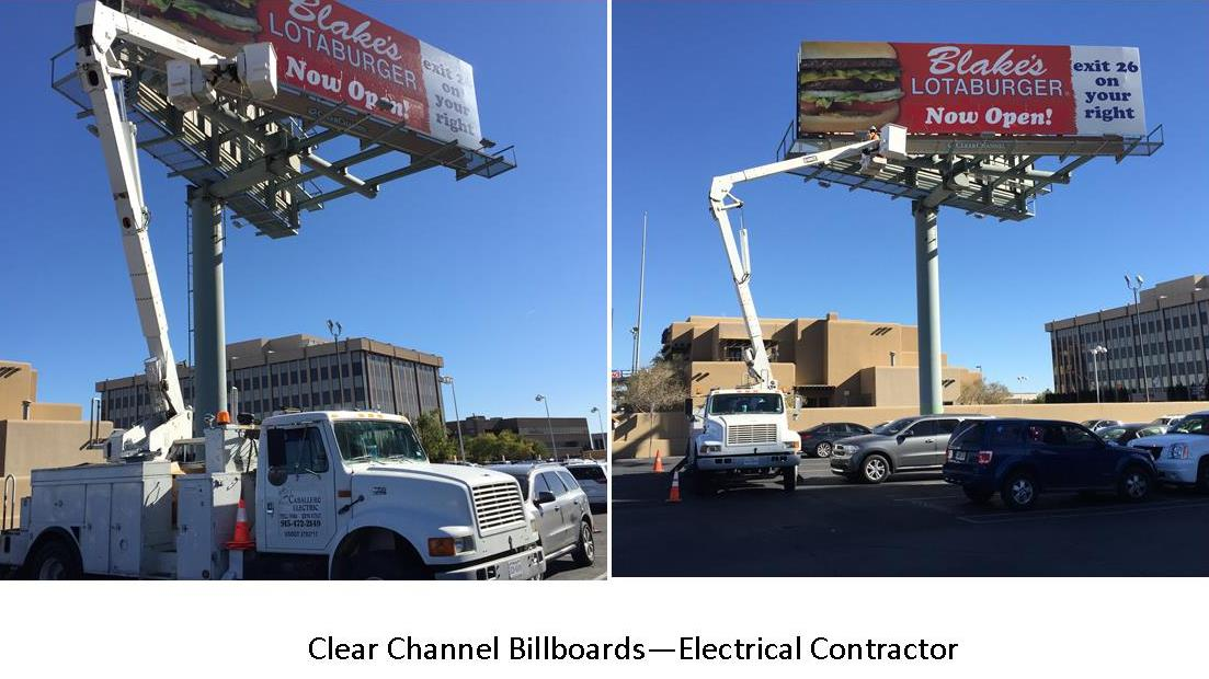 Clear Channel Billboards - Electrical Contractor